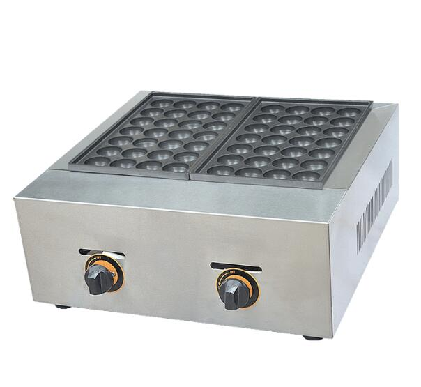 Gas Type Fish Ball Maker 2 Plates Toaster Waffler Maker Ball Former Octopus Cluster Takoyaki Egg Cookie Making Appliacne FY-56.RGas Type Fish Ball Maker 2 Plates Toaster Waffler Maker Ball Former Octopus Cluster Takoyaki Egg Cookie Making Appliacne FY-56.R
