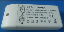 500pcs wholesale High Quality CE Certificate AC220-240V DC 12V 18W  LED Driver Adapter Transformer Switch For Strip