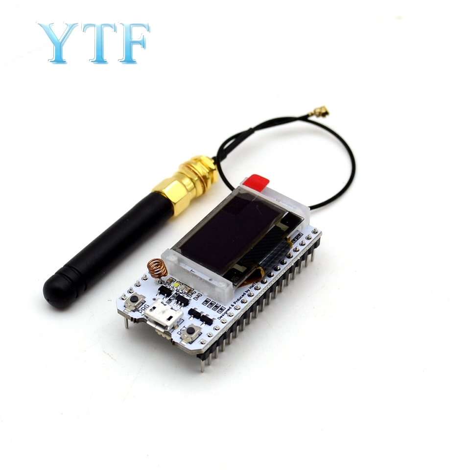 868MHz/915MHz LoRa ESP32 Oled Wifi SX1276 Module IOT With Antenna For Arduino Electronic Diy Kit Pcb New Version