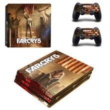 Farcry 5 Far Cry 5 PS4 Pro Skin Sticker Vinyl Decal Sticker