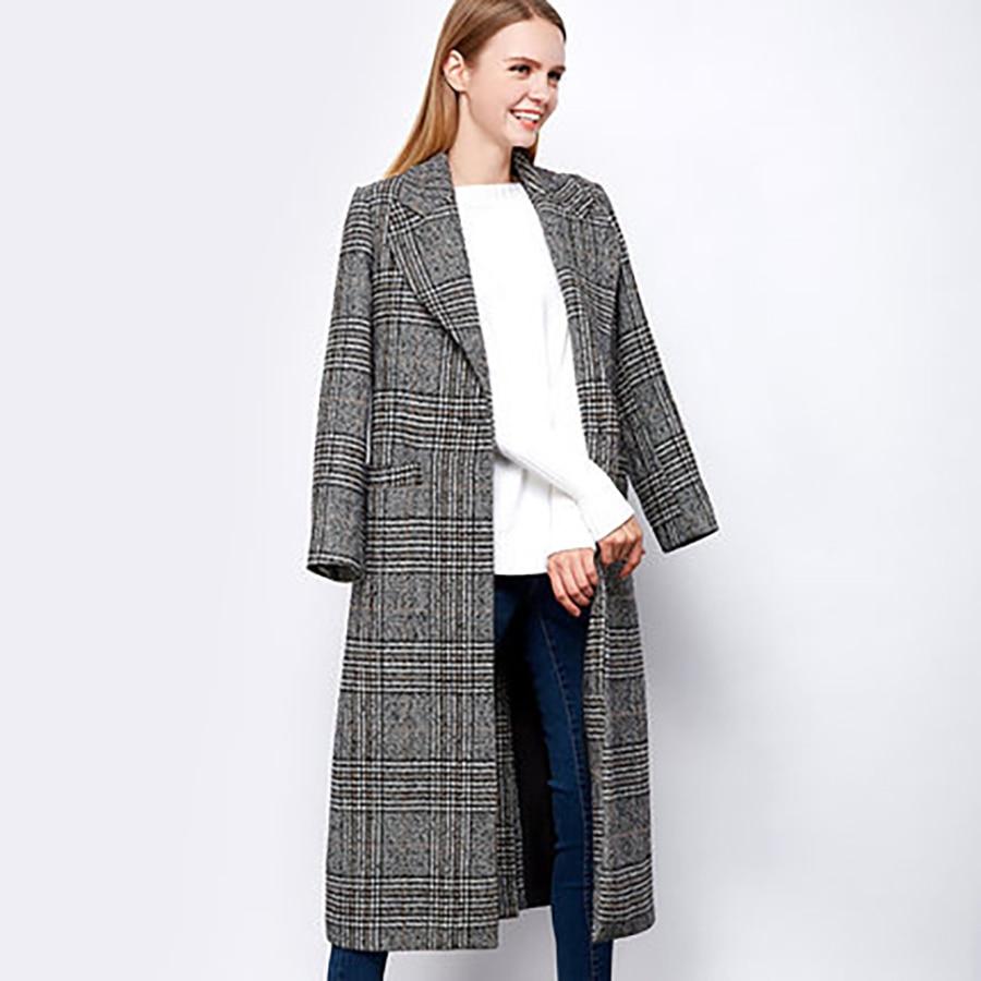 Aliexpress.com : Buy Autumn Long Thick Coat Cardigan Woman Casual ...