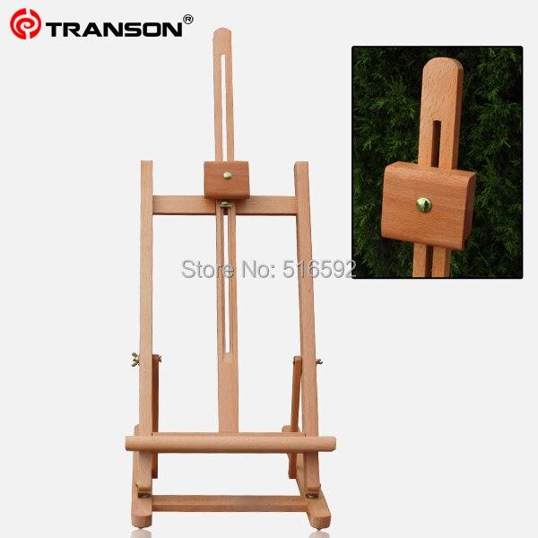 Chevalet en bois pliable Transon, chevalet de table pour peinture et affichage d'artiste, chevalet d'esquisse, fournitures d'art