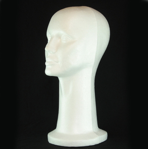 1 PC 53cm Female Styrofoam Foam Head Stand Mannequins Display Wig Hair Glasses Hat DIY Apparel Sewing Foam Mannequins