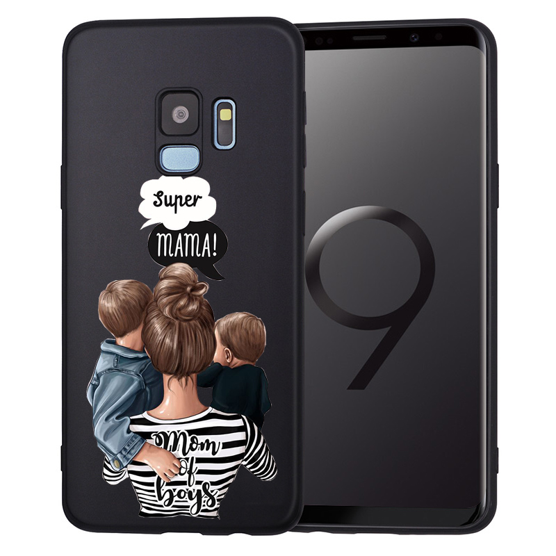 Чехол для телефона для Samsung Galaxy S9, S8, S10 Plus, S7, S6 Edge, S10 Lite, Note9, 8, семейный чехол, Etui - Цвет: 08
