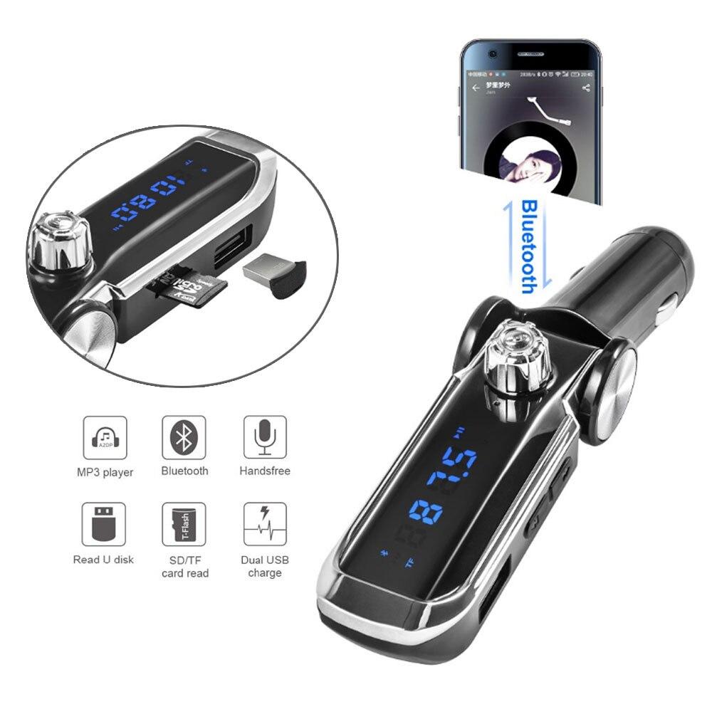 Gakaki 2018 Neue Bluetooth V3.0 Auto Auto Kit FM Transmitter Drahtlose Freihändige Auto Mp3 Musik Player