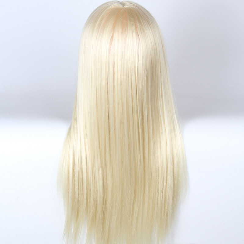 High Quality Hairdressing Doll Heads Practice Training White Hair Cosmetology Mannequin Heads Women Hairdresser Manikin Head in Mannequins from Home Garden