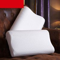 High Quality Cotton Slow Rebound Therapy Neck Head Health Care Memory Foam Pillow Massager Pillow Adults