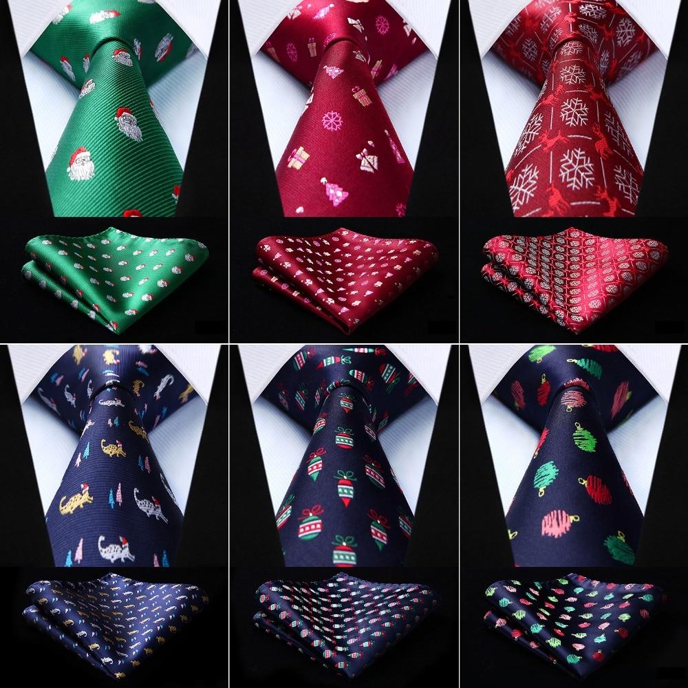 Men Ties Christmas Gift Silk  3.4