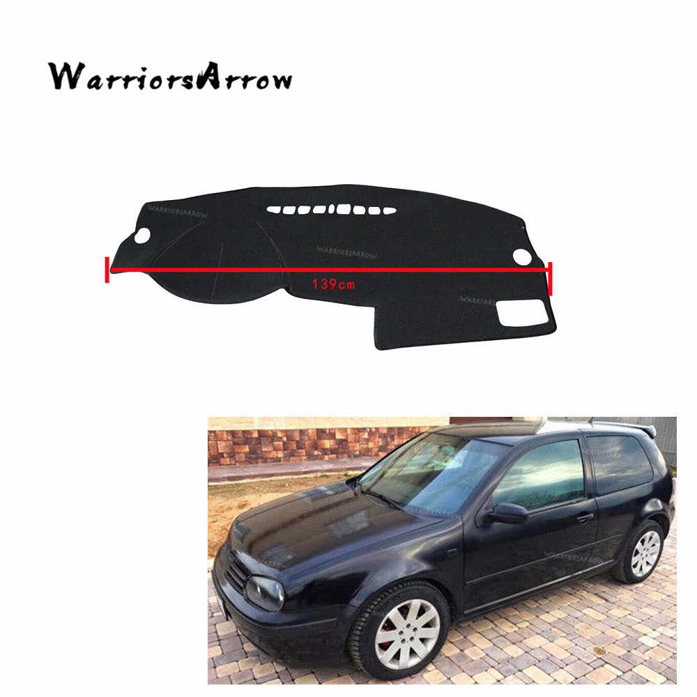 WarriorsArrow Inner Auto Dashboard Cover Dashmat Dash Mat Pad Sun Shade Dash Board Cover Carpet Protective Mat LHD For VW GOLF 4