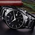 Curren top marca relojes de lujo de los hombres reloj de pulsera de cuarzo militar ejército de Los Hombres Ocasionales Relojes Masculinos Deporte de Los Hombres Clásico Reloj de Acero regalo
