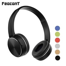 Bluetooth Wireless Headphones 6 Colors Sport Headset Connect 3.5 mm Audio Cable With Mic FM Radio TF Card For PC Mobile Phone цены