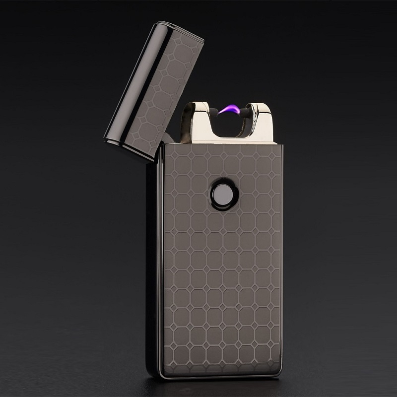 plasma arc lighter usb charge cigarette electronic isqueiro cigar encendedor pulse lighters fire starter gadgets electronicos