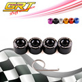 RYANSTAR - Auto 4pcs Wheel Bolt Caps Wheel Lug Nuts Cover 17mm Fits For Volkswagen Golf Jetta  With Dismantel Tool