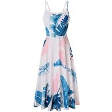 Boho vintage clothes sleeveless summer maxi dress backless floral long women 2019 off shoulder robe longue beach dresses