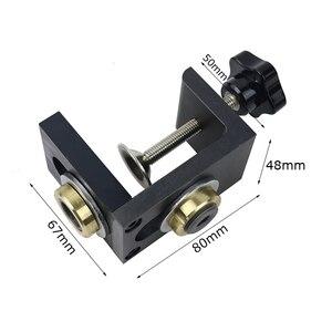Image 2 - 3 1 で調整可能な doweling ジグ木工ポケット穴ジグと 8/15 ミリメートルドリルビット掘削ガイドロケータパンチャーツール