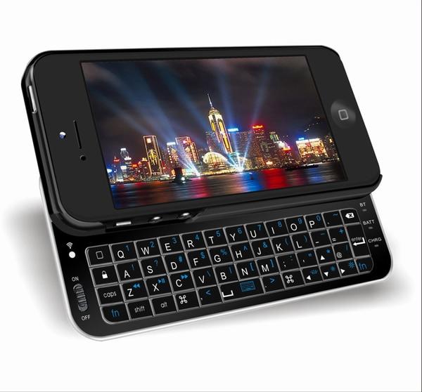 Ultra -Thin Sliding Magnetic Wireless Bluetooth Keyboard Slim Case Cover iPhone 5 5S 5G - Shenzhen ShunXinDa Trading Co., Ltd. store