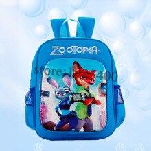 children backpacks Zootopia Canvas Bag kids backpack for boys Judy Hopps Nick Wilde Zootropolis children school bags for Girls