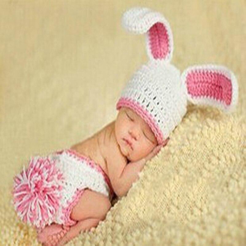 Лидер продаж ручной характер фотографии Одежда для новорожденных фотографии детская шапка крючком диких детей реквизит для фотосессии Бес...