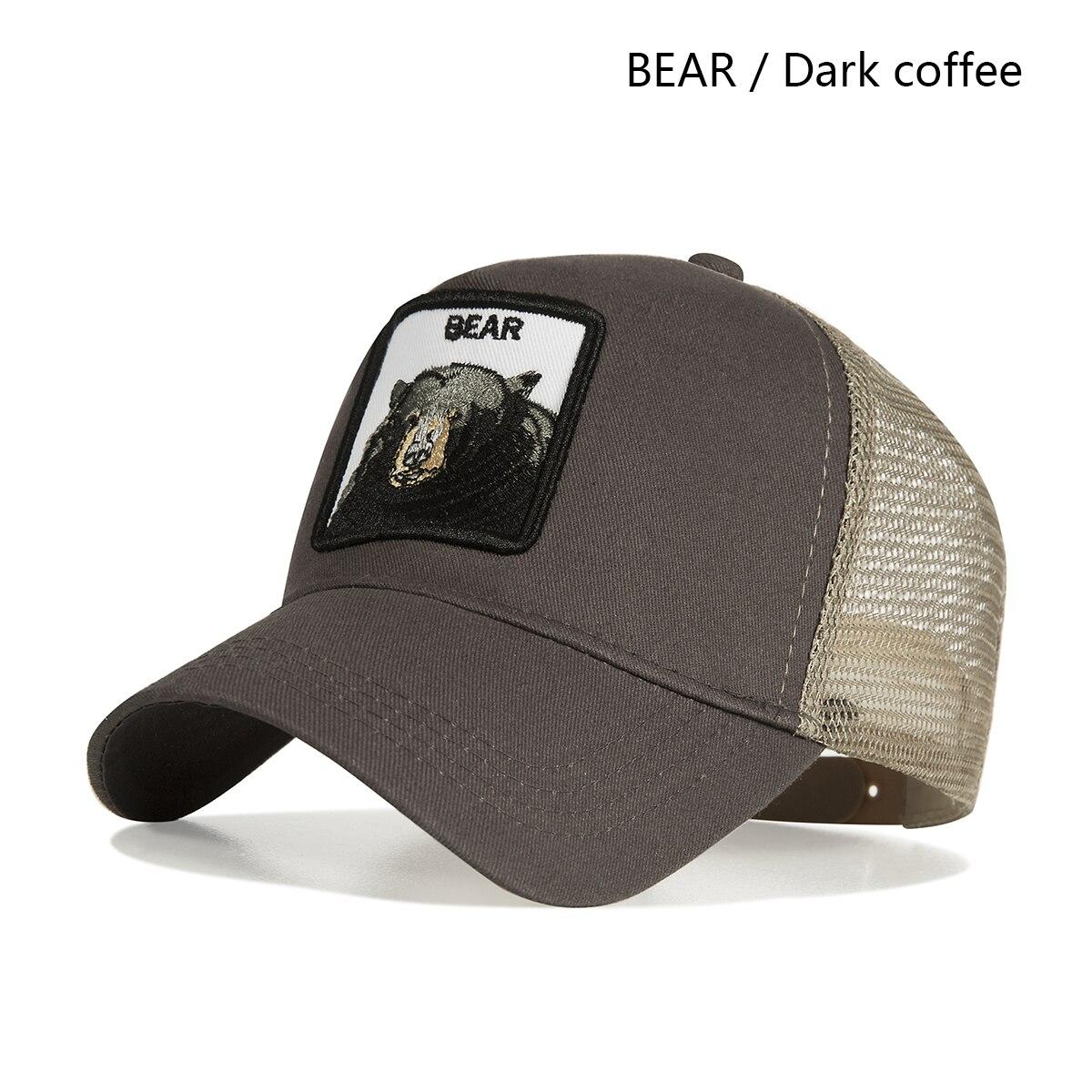 dark coffee bear