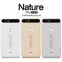 Nillkin Nature Transparent Clear Soft Silicon Thin TPU Protector Case Cover For Nexus 6p 6 P