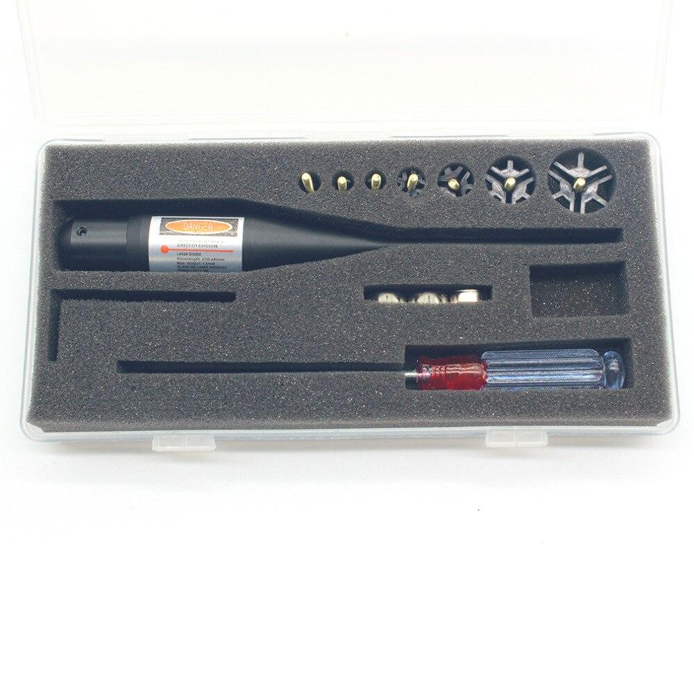 Top Quality Red Laser Boresighter Bore Sighter Kit per la Caccia. 17-78 Caliber Promozione CALDA
