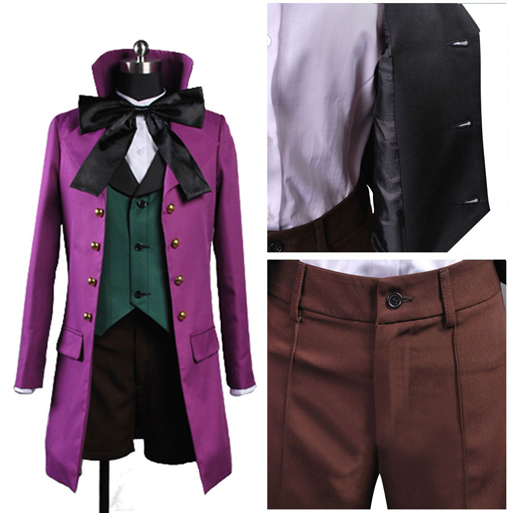 Black Butler II 2 Alois Trancy Cosplay Costume Adult Women Halloween Carnival Costume