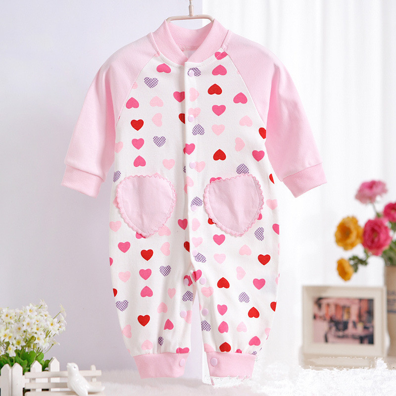 87886917a ᗑSpring Autumn Baby Rompers Layette Children Clothing O-Neck Boy ...