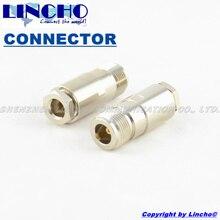 10 pcs RF 5D-FB LMR300 cable 50ohm female rf coaxial n connector