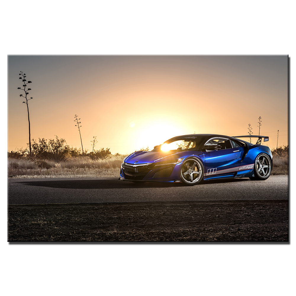 Vehicle Wall Art Posters Acura NSX Supercar Wallpaper