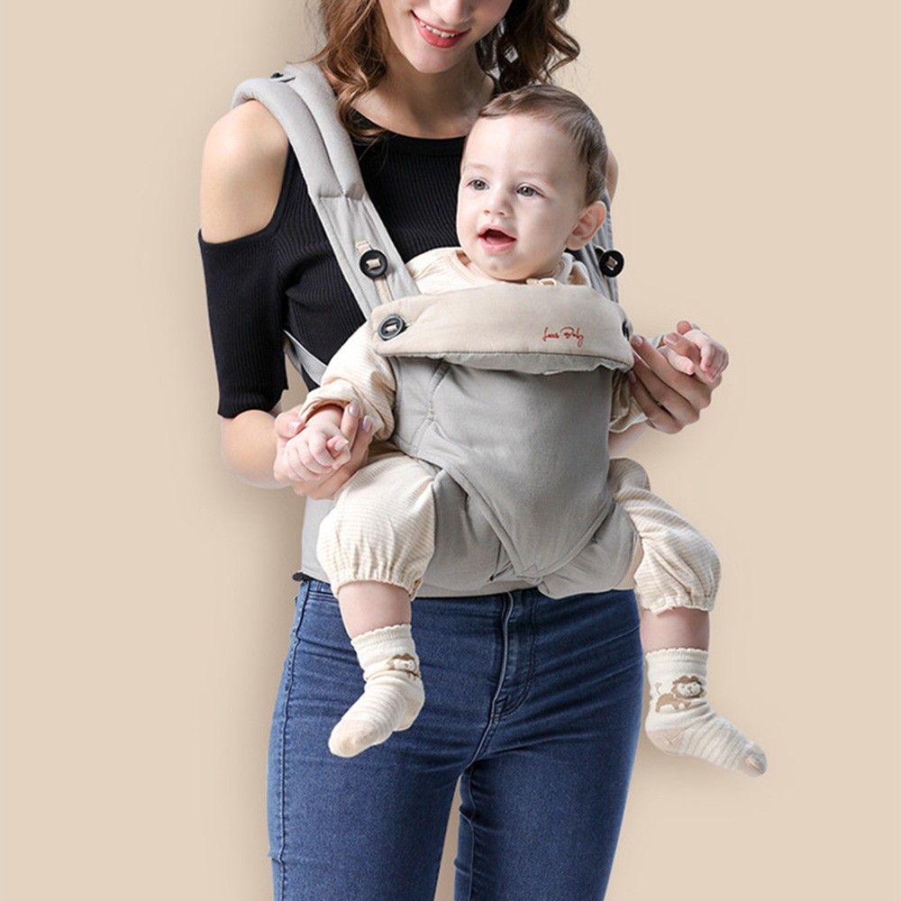 Ergonomic Baby Carrier Infant Baby Hipseat Sling Front Facing Kangaroo Baby Wrap Carrier For Baby Travel Carrier 0-36 Months