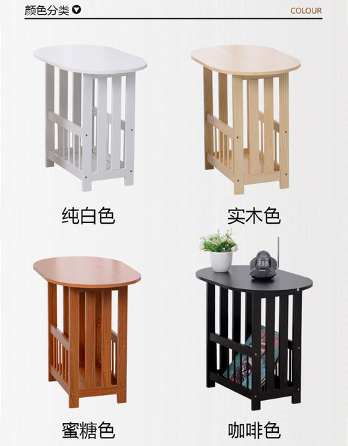 Eco-friendly Solid wood tea table Multipurpose Side tables Creative Coffee Tables Living Room Furniture