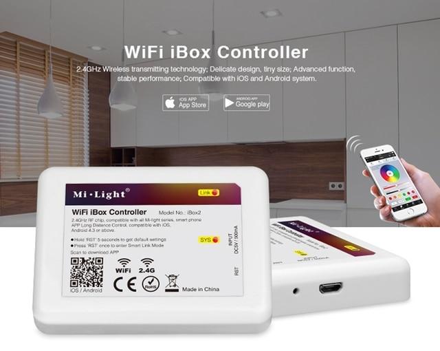 Lampen Op Afstandsbediening : 2.4g led wifi ibox afstandsbediening compatibel met milight led