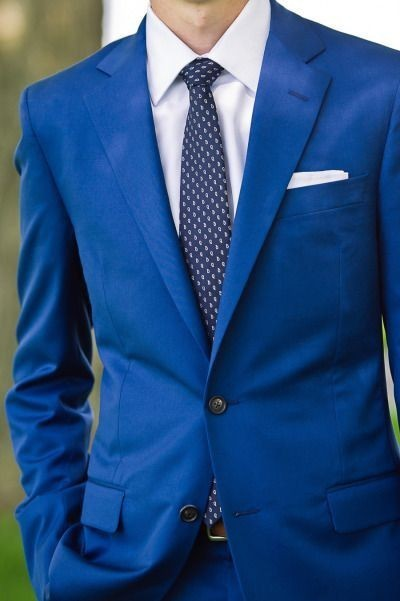 Aliexpress.com : Buy Royal Blue Mens Suit Jacket Pants Blazer Men ...