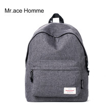 Mr Ace Homme Women College Polyester Fabric Student School Backpack Casual Girl Travel Laptop Shoulder Backpacks