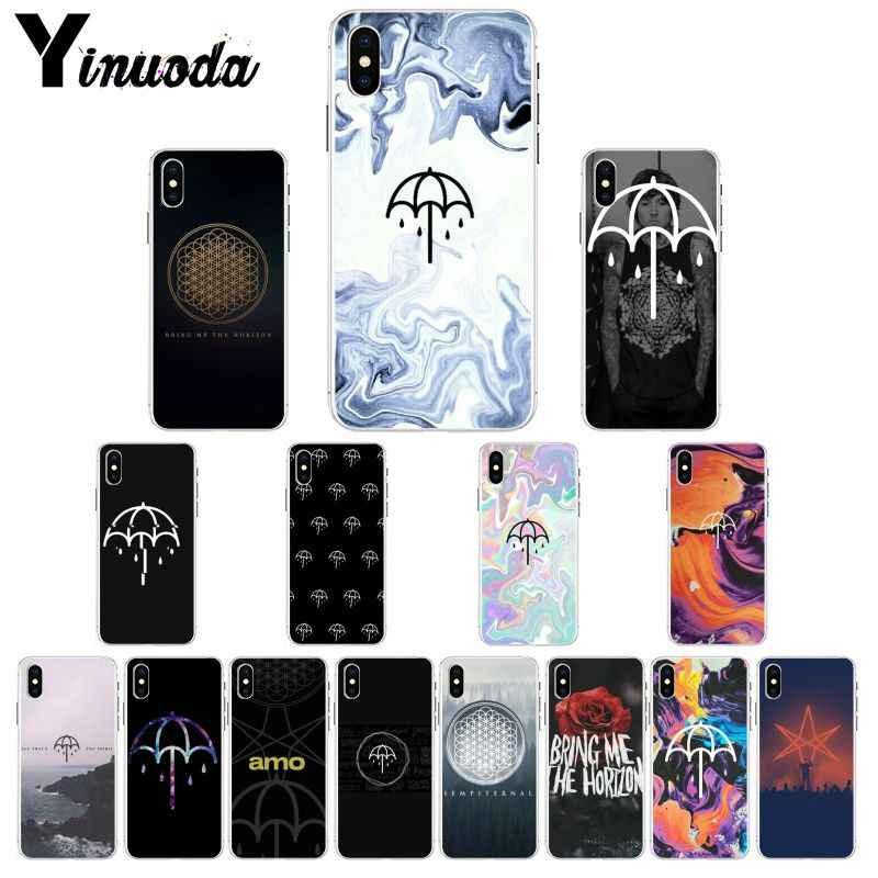 Yinuoda BMTH Bring Me the Horizon Einzigartige Design Telefon Abdeckung für Apple iPhone 8 7 6 6S Plus X XS MAX 5 5S SE XR Mobile Fällen