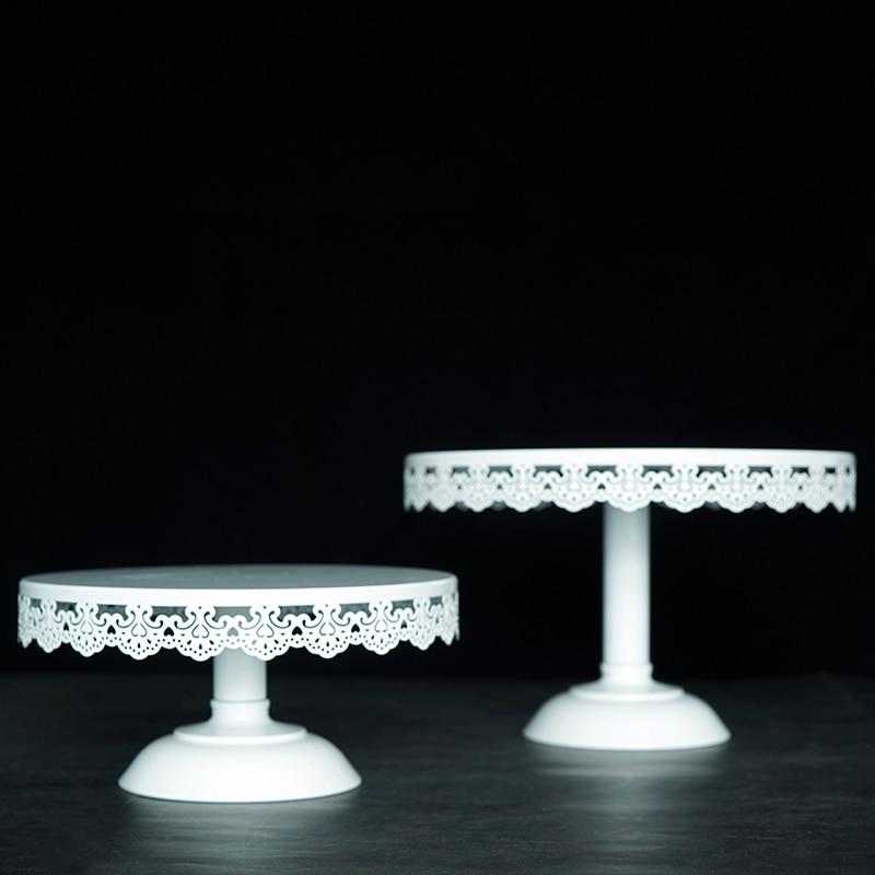 Support à gâteau blanc ensemble de support à Cupcake de mariage en métal barre à bonbons décoration outils à gâteau ustensiles de cuisson étagère à gâteau support étagères