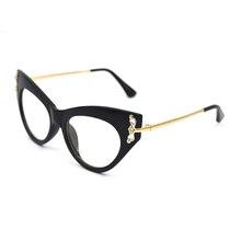 Fashion Anti Blue ray Radiation blue light blocking glasses Women Cat Eye Diamond Anti eye fatigue Computer gaming goggles L3 цена