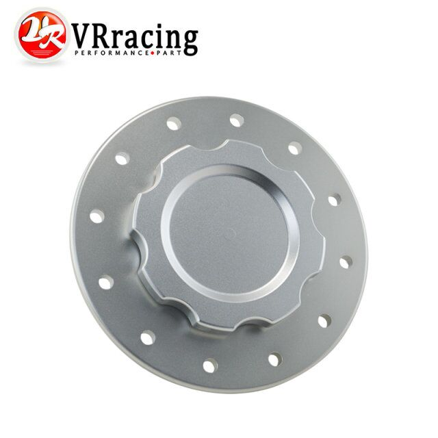 VR RACING - Billet Aluminum Fuel Cell/Surge Tank Cap with 12 bolting holes with 3'' I.D.Opening For RI fuel cells VR-SLFCC-01SL