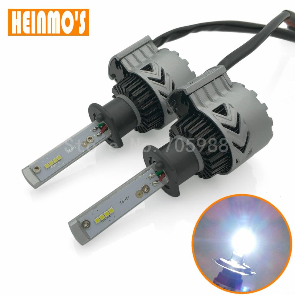 H1 60W 6000LM  H7 H11 LED Car Headlight Bulbs 9005 9006 COB LED Car Headlight Bulb Hi-Lo Beam 6000K Auto Headlamp 12V 24V leadtops led h4 h7 h11 h1 h13 h3 9004 9005 9006 9007 cob led car headlight bulb hi lo beam 72w 8000lm 6500k auto headlamp 12v dj