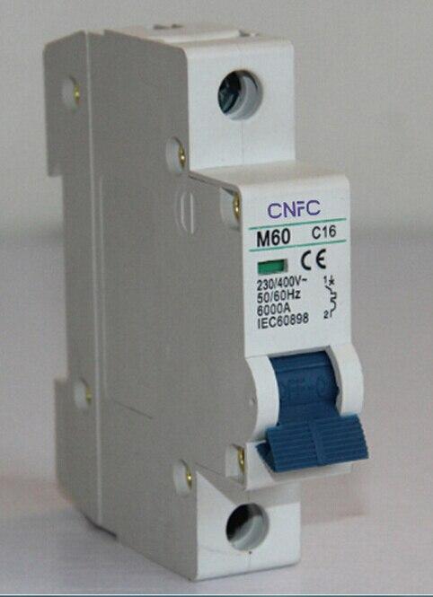 Mini Circuit Breaker Dz47le63 China Electronic Circuit Breaker