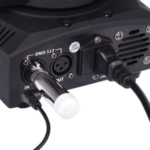 Image 2 - Newest 5 pcs DMX512 DMX Dfi DJ 2.4G Wireless 1 Transmitter and 4 Tricolor LED Indicators Receiverr For DJ LED Lighting Control