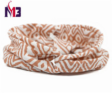 New Fashion Women Twist Headband Ladies Hair Band Hoop Stretch Knitted Paisley Striped for Accessories