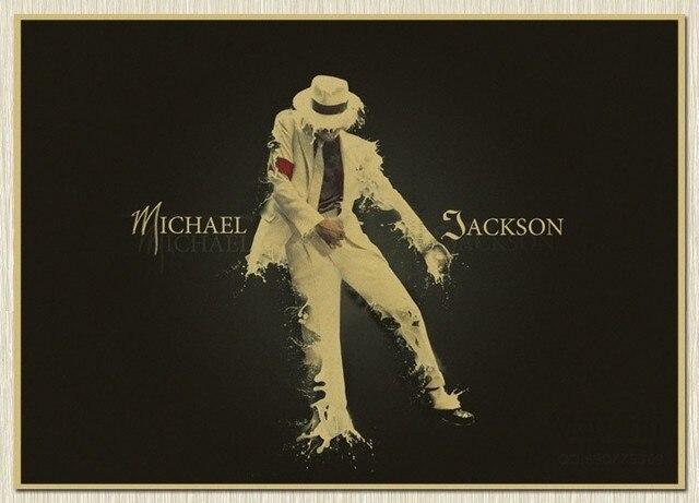 Us 424 15 Offnph 252 Gwiazda Muzyki Michael Jackson Moon Walker Malarstwo ścienne Bar Plakat Obraz Do Salonu Wystrój Domu 30x42 Cm W Nph 252