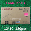 winding wire label paper waterproof cable tag number card cable tags mark label