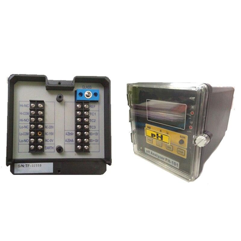 Онлайн pH/ОВП контроллер промышленных 110/240 В AC 50/60 Гц мониторинга качества воды английская версия интерфейс Высокая точность лаборатории мет