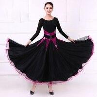 New Ballroom Competition Dance Dress standard ballroom dancing clothes Women Waltz Tango modern dance costumers