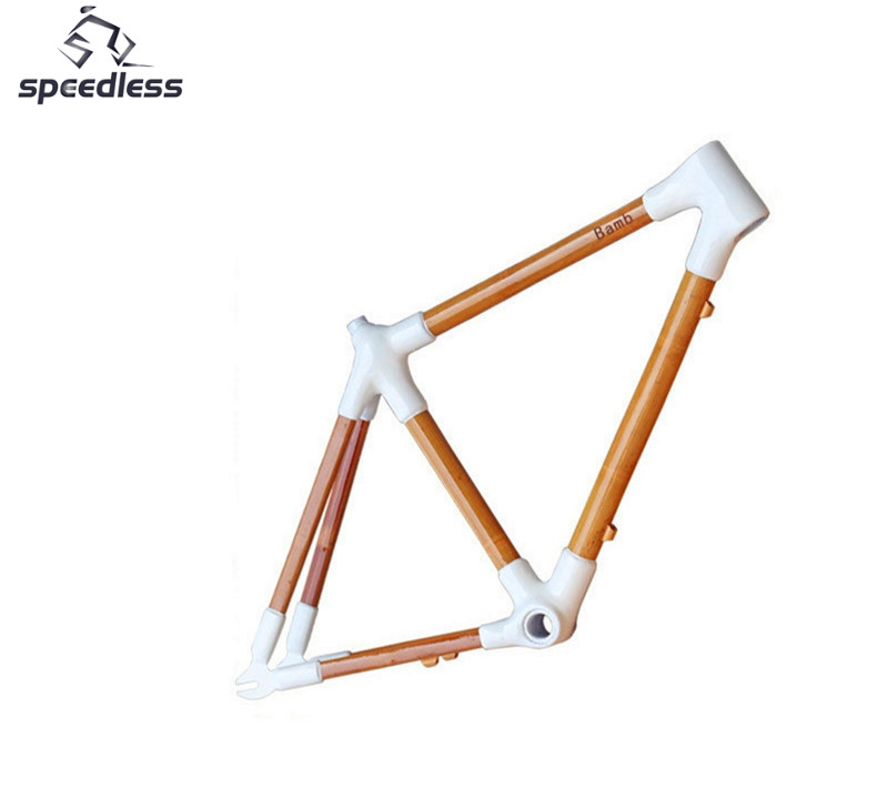 Ultra-light 3Kg 700C Bamboo Road Bicycle Frame For Road Bicycle Or Road Bike