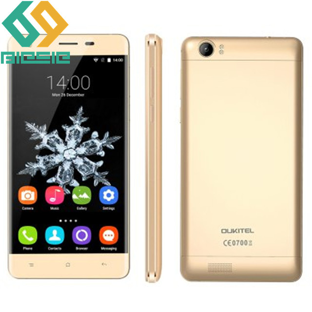 "OUKITEL K6000 4G 5.5"" Smartphone Android 5.1 MTK6735 64bit Quad Core 1.0GHz 2GB 16GB 13.0MP OTG Fast Charge Dual SIM GPS"