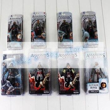 Assassin creed 4 Black Flag Connor Haytham Kenway Haytham Kenway Altair Ezio Maître Assassin Action PVC Figure Jouet