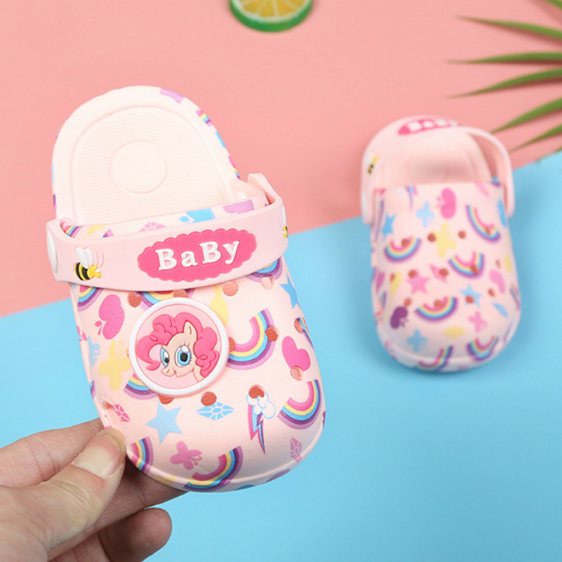 2019 New Fashion Toddler Girls Boy Garden Shoes Cartoon Sandal For Babies Summer Slippers High Quality Kids Sandals